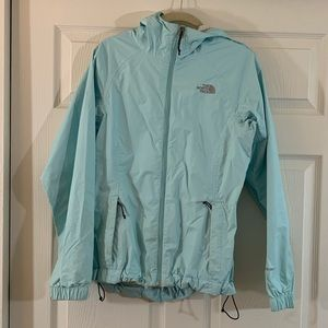 North Face | HyVent DT | Rain Jacket | Light Blue